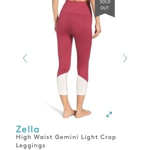 Zella Gemini crop workout pants